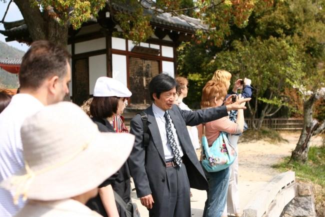 Уэно Косю. Киото, весна 2009