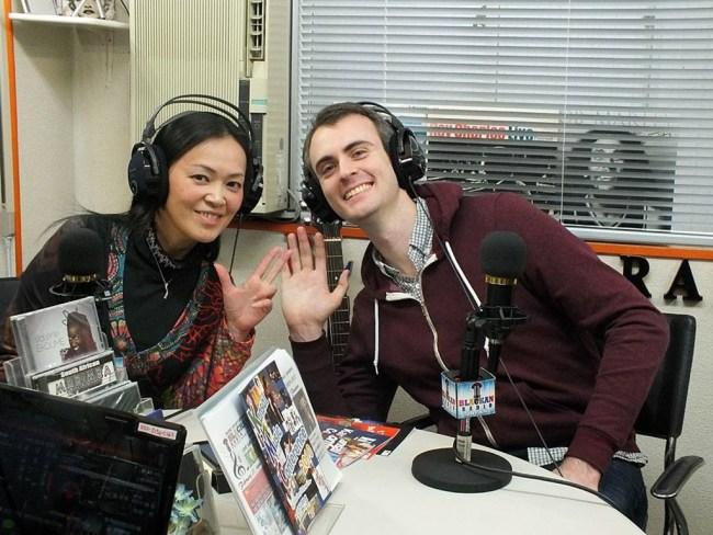 with Mamico Sugaya at Blackan Osaka