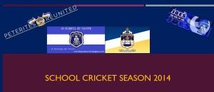 School cricket 2014 SJC & SPC
