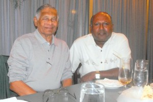 Upali Obeyesekere and Benito de Silva