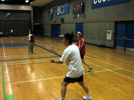 BCIT Badminton Tournament 1