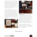 Coffee Project - News Article Page