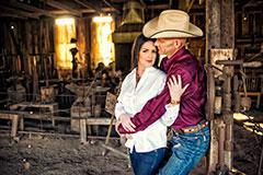 cami+brent : george ranch historical park : houston engagement photographer