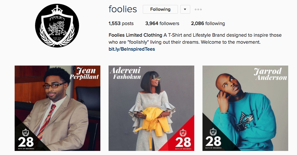 Foolies February Feature