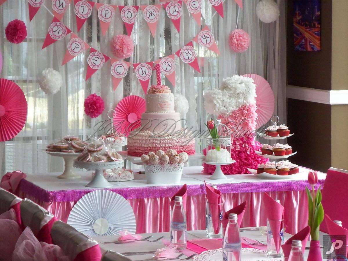 Декорация на сладка маса за рожден ден или кръщене