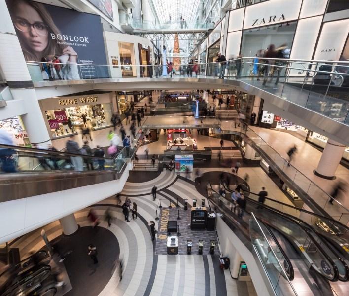 shopping mall ショッピングモール