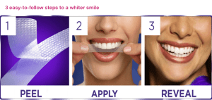 crest 3D white whitestrips how to use クレスト3D ホワイトニング 使い方