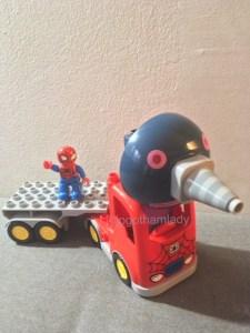 レゴ デュプロ ブロックラボ 互換性 スパイダーマン もぐりん 知育玩具 アメリカ 育児