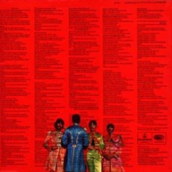 Sgt. Peppers Lonely Hearts Club Band - LP back