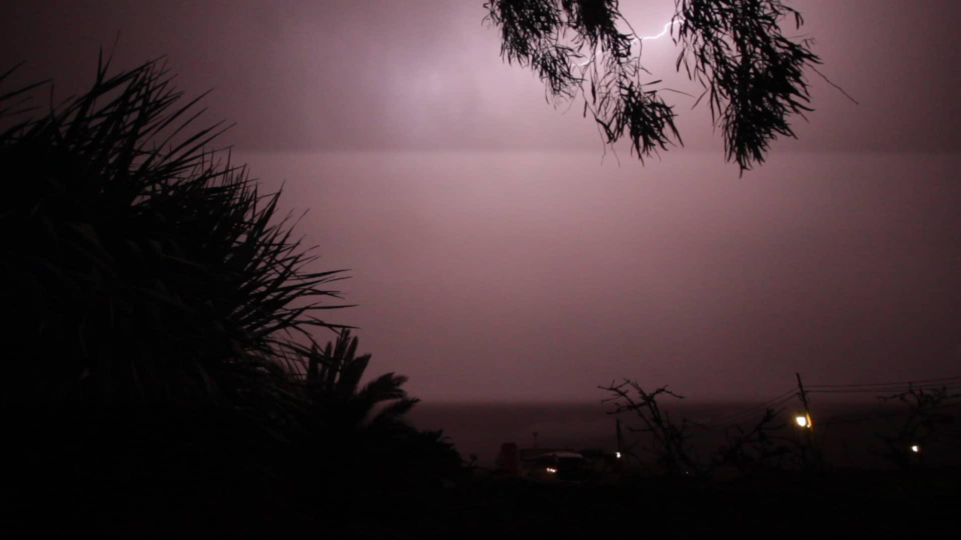 Freak summer weather in Fuerteventura