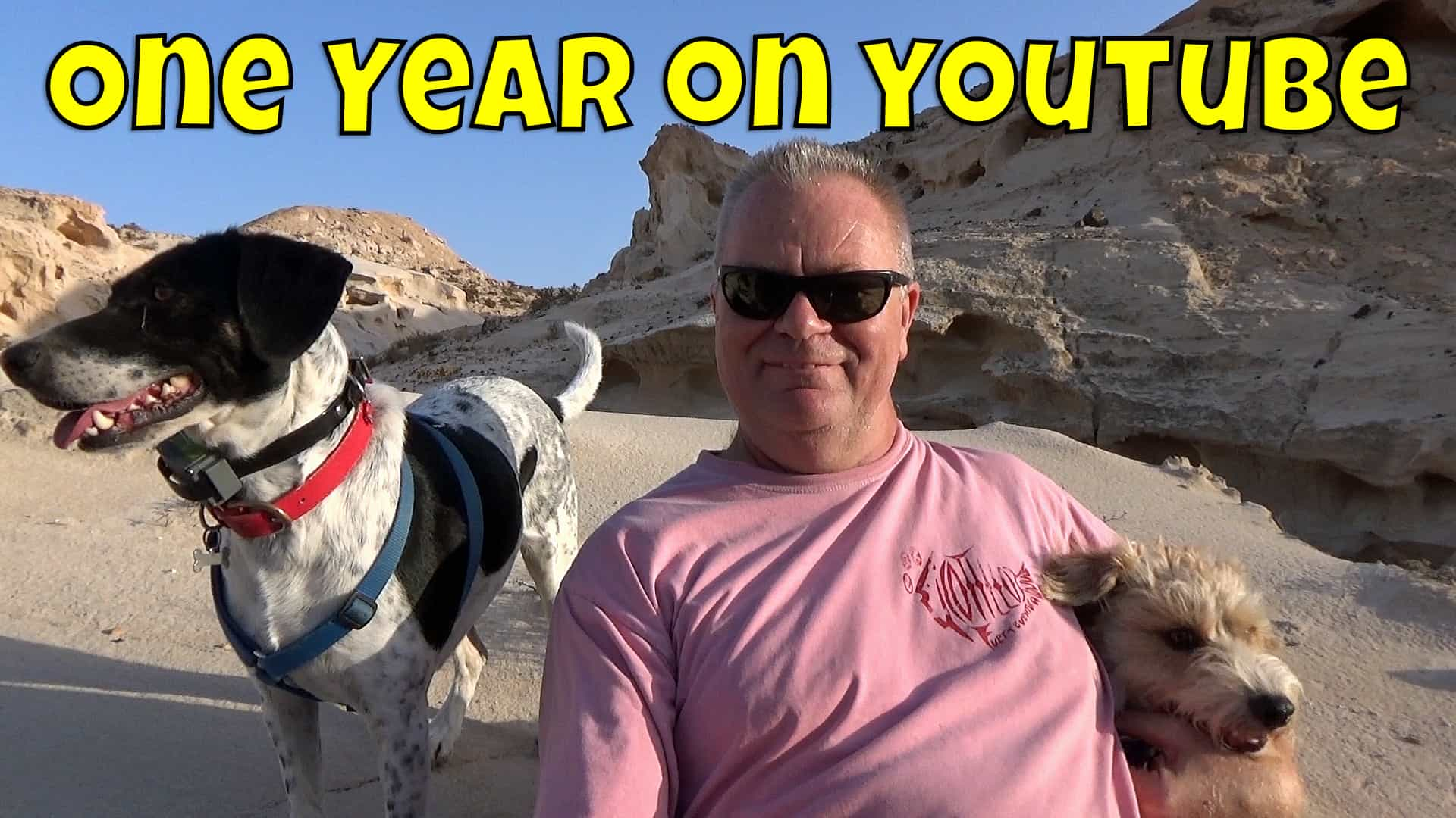 one year on youtube