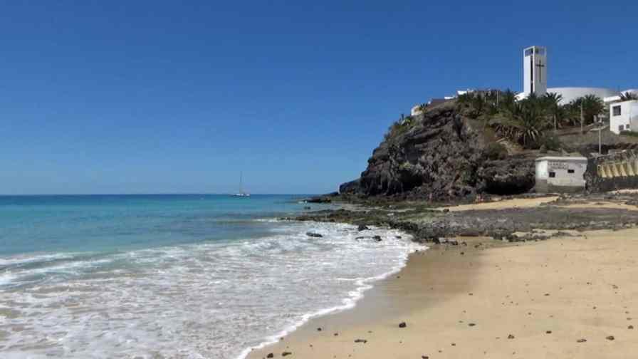 Morro Jable in southern Fuerteventura