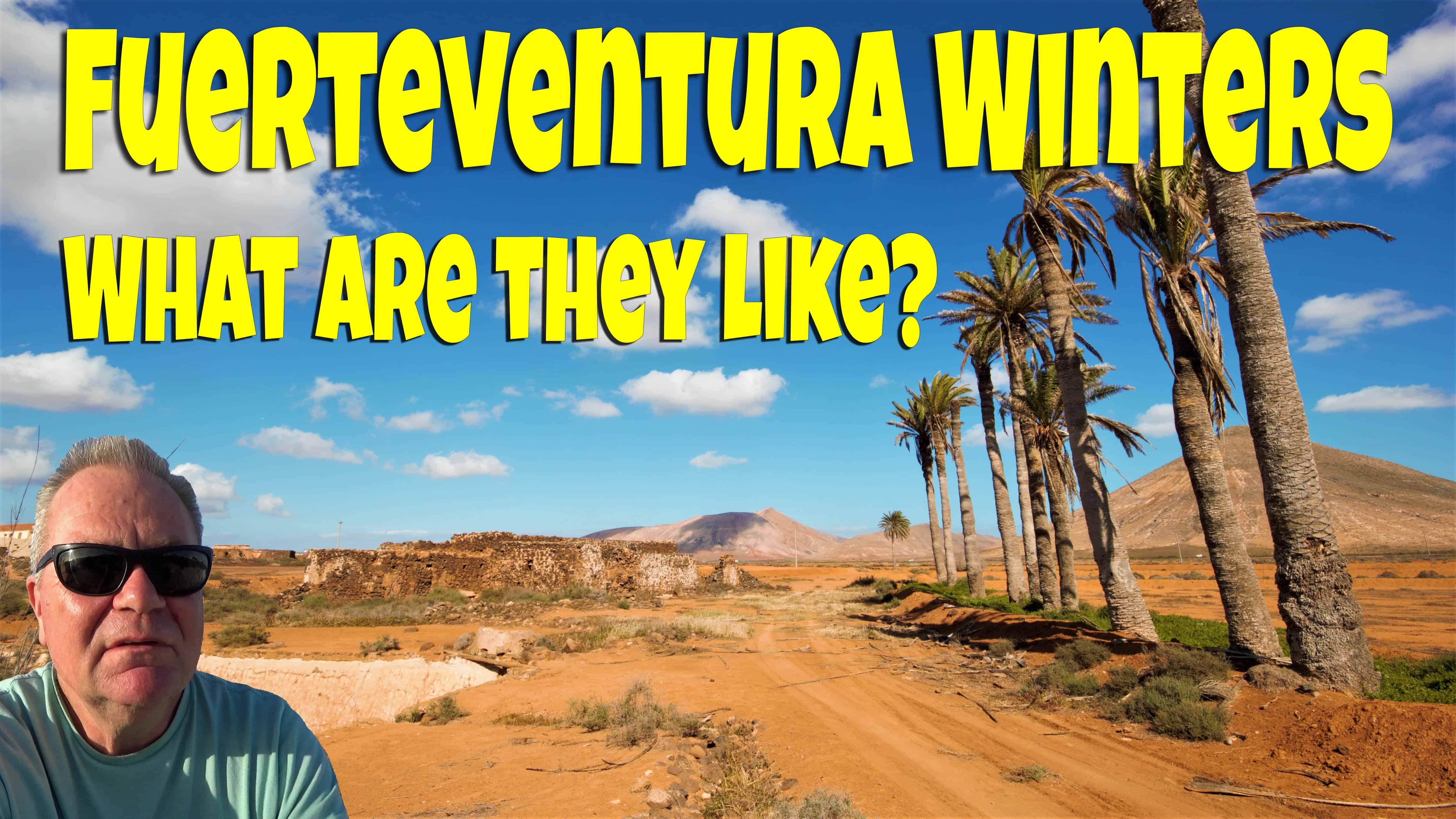 Fuerteventura in winter
