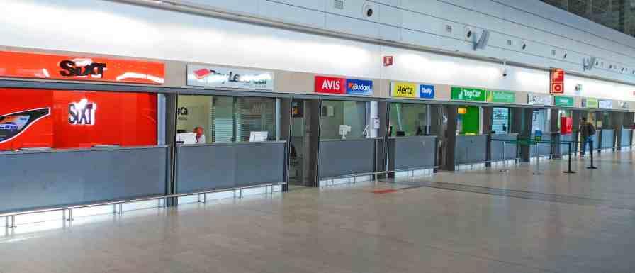 Car hire at Fuerteventura airport
