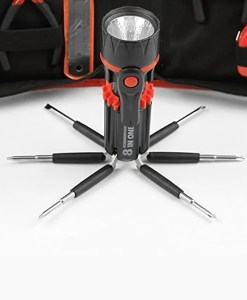 8 in 1 Screwdriver with Flashight Tool Kit- MultiTech Solutions