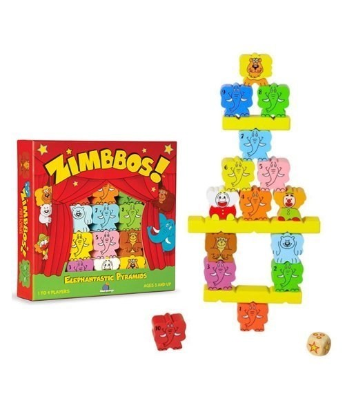 Zimbbos Display - Skill Building, Counting, Stacking Game for Kids - STEM Product