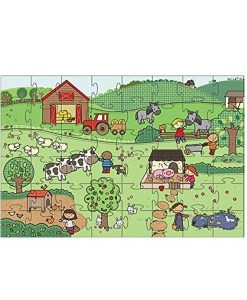 Giant Floor On The Farm Puzzle (35 Piece)