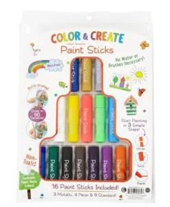 Color & Create Paint Sticks 16pc