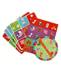 Farmyard Bingo Game Pieces