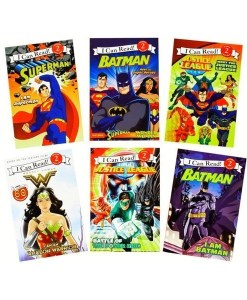 I Can Read (Level 2) - Justice League - Super Hero 6 Book Set