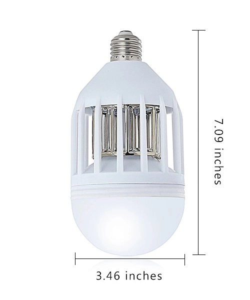 LED Mosquito Killing Bulb Dimensions