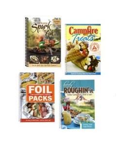 Campfire Cookbook 4 Book Set