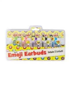 Emoji Earbuds 5-in-1 Set