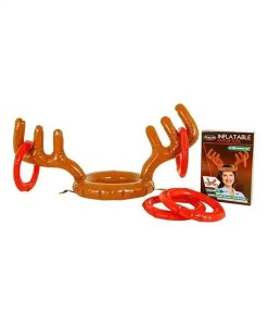 Inflatable Antler Toss - The FUN Reindeer Game