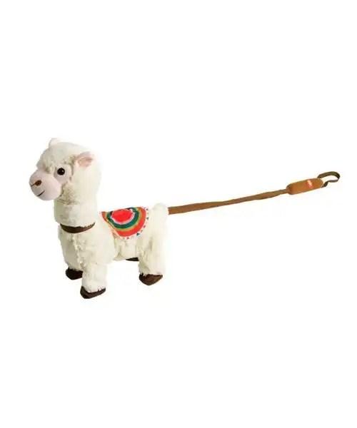 Llama on a Leash - Cuddly Crooners