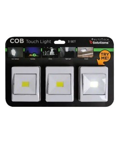 COB Touch Light 3 Pack - MultiTech Technology