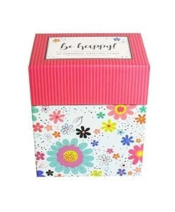 Be Happy! Handcrafted Card Collection - Box Set