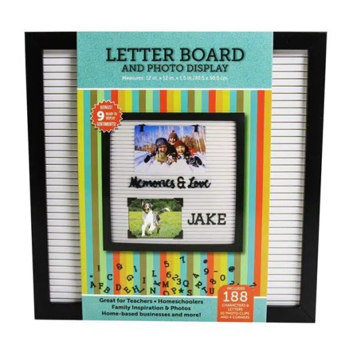 Letter Board - The Perfect Message Board