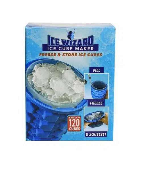 Ice Wizard Ice Cube Maker Front
