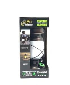 Dual Mode Vintage Lantern - Boxed