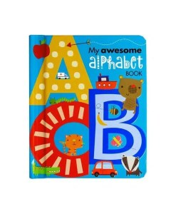 My Awesome Alphabet Book - Front Cover