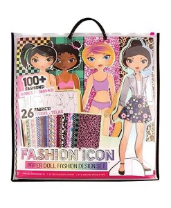 Fashion Icon Paper Doll Fashion Set - Cover