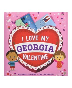 I Love My Georgia Valentine - Front
