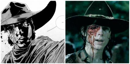 The Walking Dead, Carl gets shot