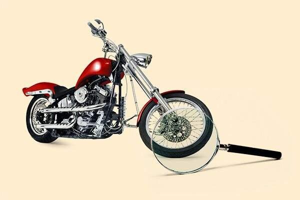 Pour un bon entretien de votre moto pensez à vérifier la pression et l'usure des pneus