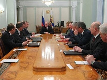 Putin's Advisor: Russian Security Council Discusses Situation in Syria