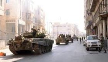 ALEPPO ENCIRCLED COMPLETELY AS RODENTS CRINGE INSIDE THEIR HOLES; ARMY MOVING TO NIBBUL AND AL-ZAHRAA`