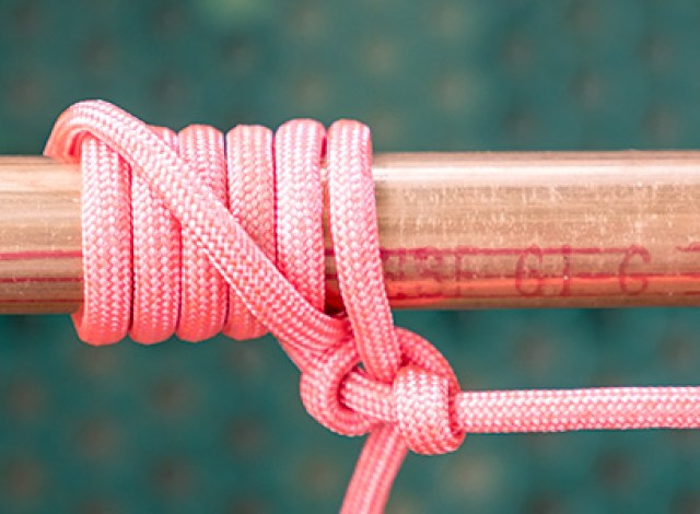 Image result for tying rope to pole