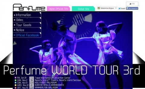 Perfume To Perform Worldwide For 3rd Time Since Debut