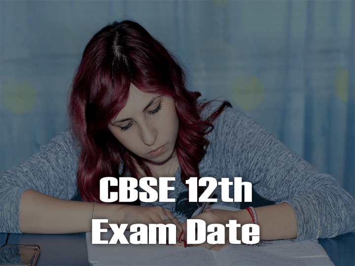 CBSE 12th Time Table 2020 PDF