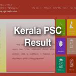 Kerala PSC Result