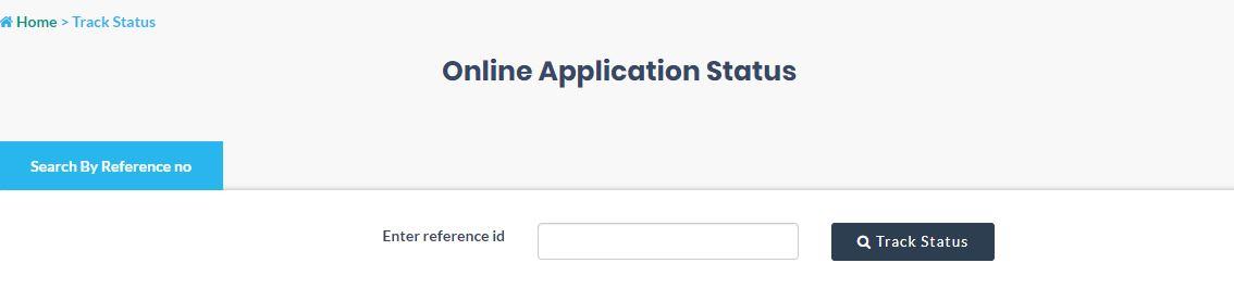 Application Status Track Voter ID