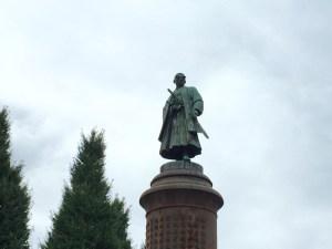 靖国神社境内にある大村益次郎の銅像