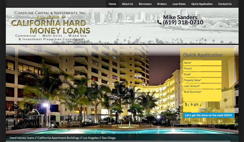 Coastline Capital & Investments, Inc.