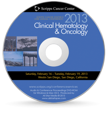 Scripps Clinical Hematology & Oncology 2013