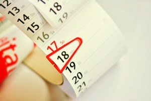 A marked calendar. Schedule your move in advance if your moving date is non-negotiable.